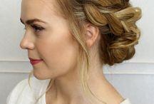 Wedding hair - DO CARE - buns baby / En elegant og smuk knold er altid et hit, men hvorfor slutte der? Der findes alverdens måder at gøre en knold helt unik og helt din egen. Find masser af inspiration i denne opslagstavle <3