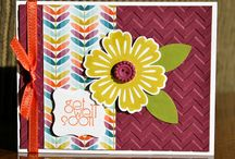 Stampin' Up! Get Well Cards / Get well card ideas created using Stampin' Up! products.