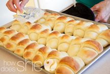 Bread Recipes / Breads, Buns, Rolls...Heaven! / by How Does She