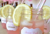 Limonade Rose baby shower