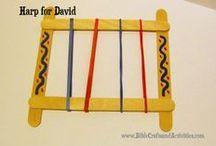 King David lesson crafts