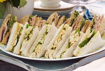 Afternoon Tea and Drinks to Serve / Recipes and Ideas
