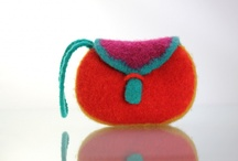 felted bags / by Kim O'Donoghue