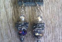Σκουλαρίκια και βραχιόλια τζίν