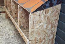 Chickens - Kippen / Leuke ideeën voor kippenhok- ren, New Hampshire chickens