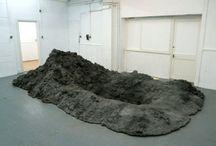 CONTEMPORARY PILE ART / mounds, piles
