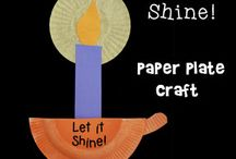 Let your light shine crafts