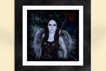 Gothic/Fantasy Art Prints - Sapphire Moon Art Etsy Store / Gothic and fantasy art prints at the Sapphire Moon Art and Design Etsy store