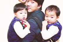 THE TRIPLETS / Song Brothers. Daehan - Minguk - Manse