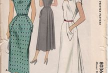 Sewing Inspo - Vintage Patterns / Vintage Sewing Patterns