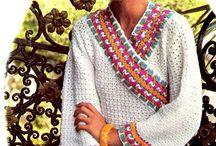 Кимоно вязание