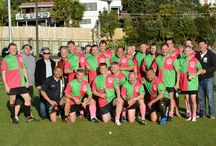 Bearded Lions Rugby Team from Grammar Carlton, Auckland in New Zealand / The Bearded Lions is the creation of Alan Lang to keep alive the aspirations of retired Dandy Lions. Membership is by invitation, Jersey size dependant! Yesterday our Bearded Lions rugby side played our mate Muzza's team to celebrate Muzzas 50th birthday. We played at the Ellerslie Domain, Ellerslie, Auckland. https://www.facebook.com/BearedLions?skip_nax_wizard=true&ref_type=logout_gear