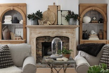 fireplaces / by Jacquelyn Del Rio