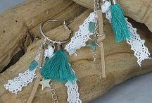 By-Sas oorbellen / Gemstone jewellery Earring