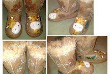 Calzado pintado- Talento x2