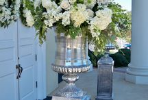 Ceremony Decor / Floral decor for wedding ceremony.