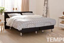 Zero G slaapsysteem van TEMPUR / Met slechts één druk op de knop neemt het Zero G (gravity) bed de juiste positie in, wat zorgt voor een ultiem ontspannen gevoel...