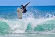 surfen en zee