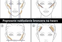 twarze makijaże