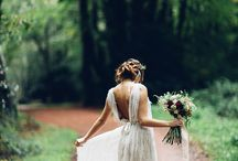 bohemian inspiration / inspiration for a bohemian bridal shoot