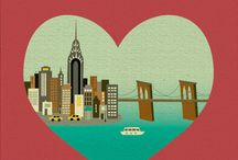 Travel | New York, New York / Board dedicated to one of my favourite cities in the world!!!