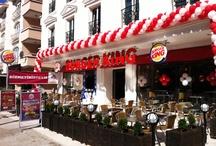 Restoranlar / Türkiye genelinde 450'den fazla restoranı ile alevde ızgara tutkunlarının hizmetindeyiz.  / by Burger King® Türkiye