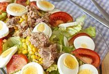 ensaladas y dieta