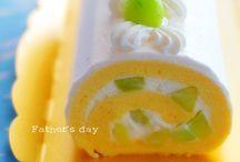 Desserts - cake rolls