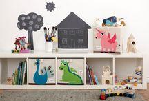 Wonen & de KIDS / Inspiratie voor de kinderkamer, leuke DIY-projecten en tips over opbergen, inrichten en leuke interieuritems.