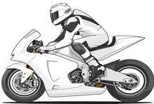 diseños motos y cascos