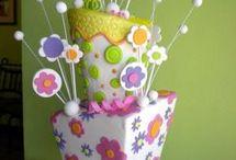 Bloemen taarten