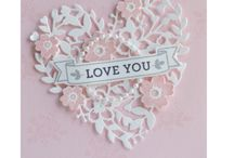 Stampin up / Items made with stampin up dies and stamp sets