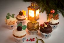 Cuckoo's Bakery Christmas Cupcakes 2014 /  Our Christmas gift box includes all 6 Christmas cupcake specials, baked fresh each morning. Our collection this year focusses on luxury flavours inspired by our favourite time of the year.