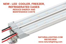 LED COOLER / FREEZER LIGHTING / NEW LED COOLER / FREEZER, REFRIGERATED LIGHTING / by Naturallighting.com