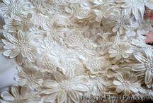 Flower Diamonds / Wear flowers instead of diamonds! Sur-mesure Bridal Dress by Megla-m