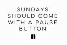 Sunday..