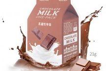 A´Pieu - Milk One Pack - Gesichtsmaske mit Milch-Extrakt und hydrolysierten Kollagen / Sehr wirkungsvolle Gesichtsmasken