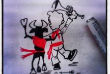 San Fermin party 2014 or The Running with the Bulls