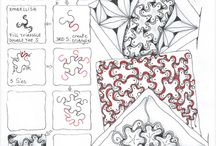 Zentangle Tutorials / #zentangle #doodle #tutorials / by Ginger Sanders