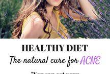 Healthy skin diet / Diet tips for healthy glowing skin.