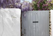 portillon jardin