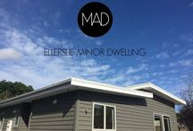 Minor Dwelling Examples / Minor Dwellings - comprised of 1-2 bedrooms, bathroom, living space, dining/kitchen and garage.