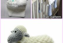 Matías para bebé tejidas