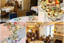 Afternoon Tea / Afternoon Tea is a wonderfully traditional event here at Aylestone Court.  Our home-baked cakes and treats are served on family china in our traditional Georgian dining room where we can serve groups from 2 - 40.