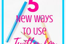 Twitter tips to increase blog traffic and following / Master twitter with these top tips for growing a twitter following and how to get twitter users to click through to your blog