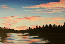sunset painting for sb