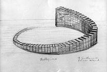 Robert Smithson - Desenhos / Drawings