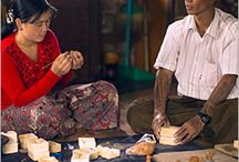 Inle Clay ~ Myanmar / by WorldCrafts