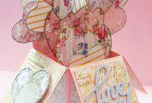 Card in box - love