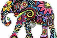 Elefante Boho